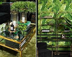 EICHHOLTZ - ARANŻACJE - Średni zielony salon, styl eklektyczny - zdjęcie od Galeria Heban- ekskluzywne meble - Homebook