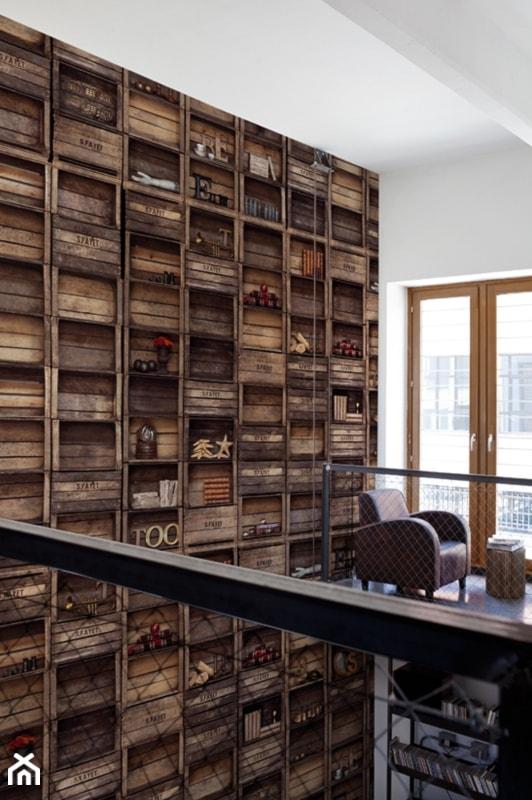 Aranżacje wnętrz - Biuro: Tapety Wall&Deco- HEBAN - Galeria Heban- ekskluzywne meble. Przeglądaj, dodawaj i zapisuj najlepsze zdjęcia, pomysły i inspiracje designerskie. W bazie mamy już prawie milion fotografii!