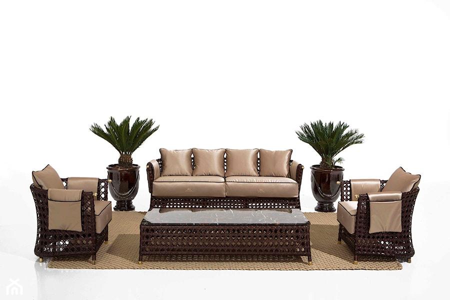 meble ogrodowe SAMUELLE MAZZA sofy i fotele  zdjęcie od Galeria