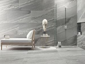 Wielkoformatowa mozaika? Stwórz designerską łazienkę z kolekcją Scoglio Grigio