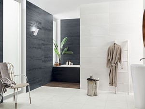 Biel w wakacyjnym klimacie – urządź niebanalną łazienkę w kojącej kolorystyce
