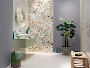 Wiosna przez cały rok – wykorzystaj motywy roślinne w aranżacji łazienki