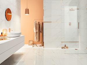 Minimalistyczna, glamour czy industrialna? Stwórz łazienkę zgodną z najnowszymi trendami dzięki kolekcjom Tubądzin 33 × 90
