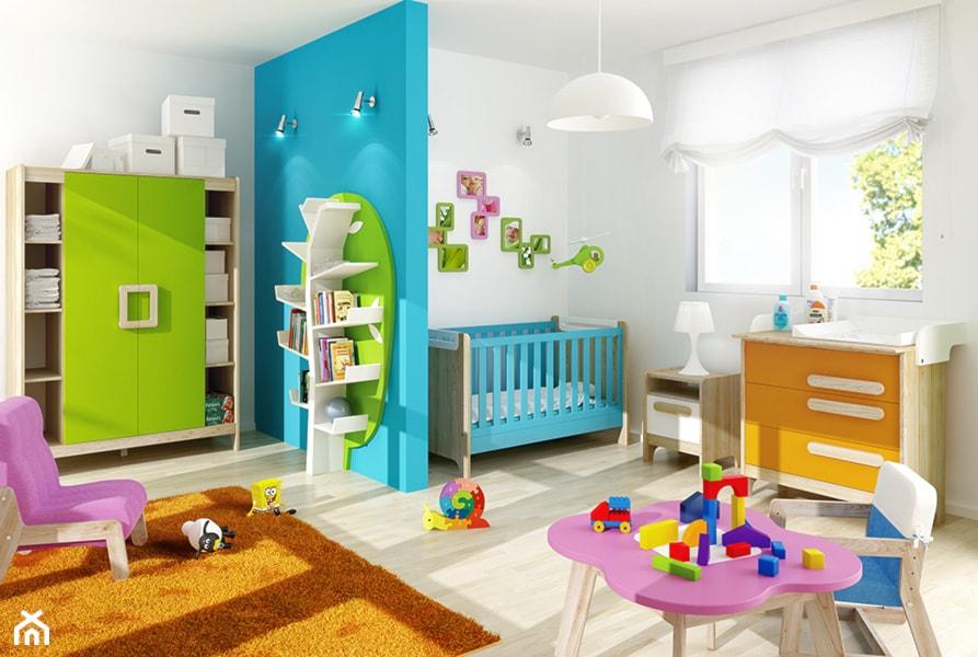 Aranżacje wnętrz - Pokój dziecka: Meble First w nowych kolorach wraz z innymi meblami Timoore. - meblefann.pl. Przeglądaj, dodawaj i zapisuj najlepsze zdjęcia, pomysły i inspiracje designerskie. W bazie mamy już prawie milion fotografii!