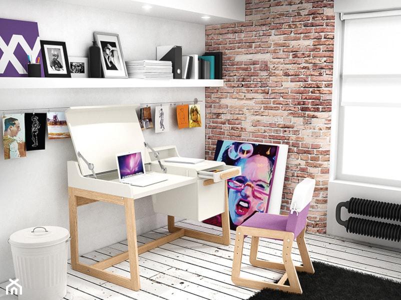 Nietypowy Okaz Rozkładane biurko, rozkładany fotelik - nowoczesne meble dziecięce ZQ28