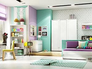 Nowoczesne meble dziecięco-młodzieżowe CLICK. - zdjęcie od meblefann.pl