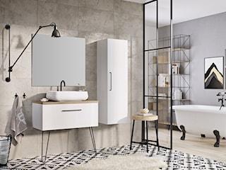Łazienka w stylu industrialnym – jak ją wyposażyć? Podpowiadamy!