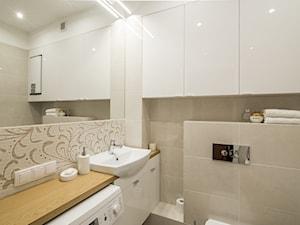 Beżowa łazienka z wanną