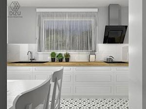 Klasyczna strefa dzienna - dom w Rudzicy - zdjęcie od DIZU Studio Projektowe