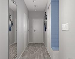 Mieszkanie+z+niebieskimi+dodatkami-+PRZEDPOK%C3%93J+-+zdj%C4%99cie+od+DIZU+Studio+Projektowe