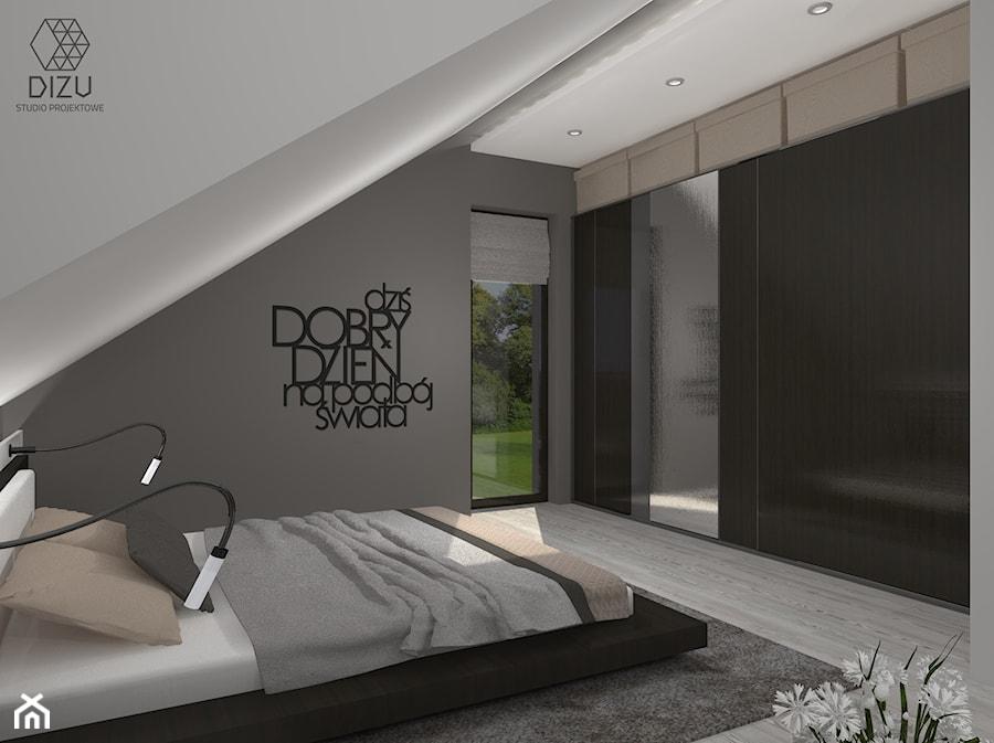 Sypialnia W Kolorach Ziemi Zdjęcie Od Dizu Studio