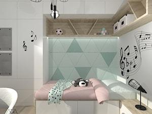 Pokój dla uczennicy - Mieszkanie w Pruszkowie - zdjęcie od DIZU Studio Projektowe