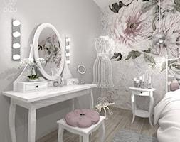 Romantycznia odsłona sypialni z toaletką -Bielsko-Biała - zdjęcie od DIZU Studio Projektowe