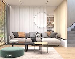 KONSTANCIN - Salon, styl nowoczesny - zdjęcie od FAMM DESIGN - Homebook