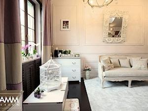 SESJA ZDJĘCIOWA - WOŁOMIN - Średni szary pokój dziecka dla chłopca dla dziewczynki dla malucha dla nastolatka, styl prowansalski - zdjęcie od FAMM DESIGN