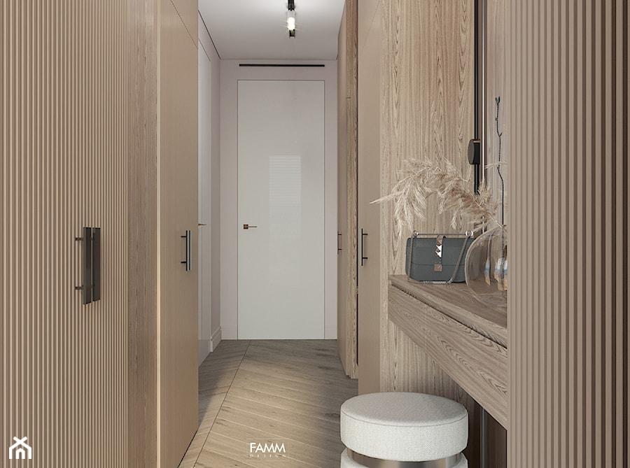 GDYNIA ORŁOWO - Garderoba, styl nowoczesny - zdjęcie od FAMM DESIGN