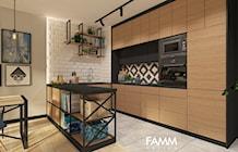Kuchnia styl Eklektyczny - zdjęcie od FAMM DESIGN