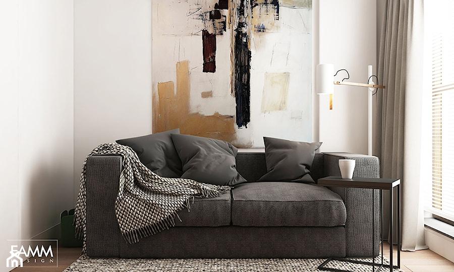 Aranżacje wnętrz - Biuro: WORONICZA - Biuro, styl minimalistyczny - FAMM DESIGN. Przeglądaj, dodawaj i zapisuj najlepsze zdjęcia, pomysły i inspiracje designerskie. W bazie mamy już prawie milion fotografii!