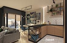 Kuchnia styl Skandynawski - zdjęcie od FAMM DESIGN