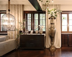 SESJA ZDJĘCIOWA - WOŁOMIN - Mały biały salon, styl kolonialny - zdjęcie od FAMM DESIGN