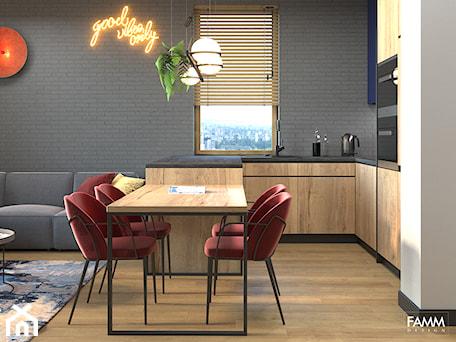 Aranżacje wnętrz - Kuchnia: PLAC ZABAW - Kuchnia, styl industrialny - FAMM DESIGN. Przeglądaj, dodawaj i zapisuj najlepsze zdjęcia, pomysły i inspiracje designerskie. W bazie mamy już prawie milion fotografii!