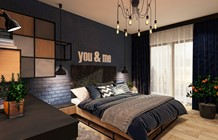 Sypialnia styl Industrialny - zdjęcie od FAMM DESIGN