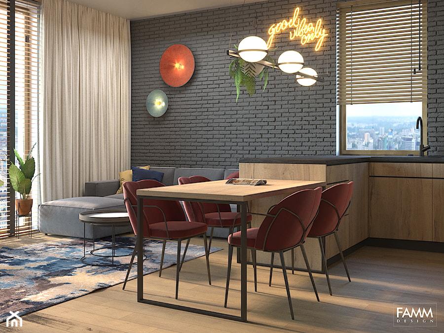 PLAC ZABAW - Jadalnia, styl industrialny - zdjęcie od FAMM DESIGN