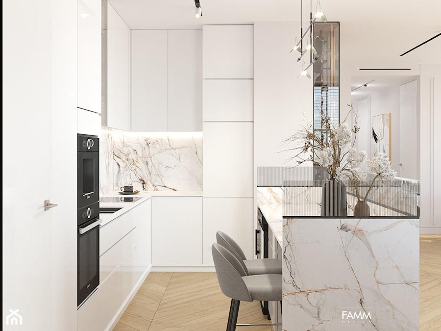 GDYNIA ORŁOWO - Kuchnia, styl nowoczesny - zdjęcie od FAMM DESIGN