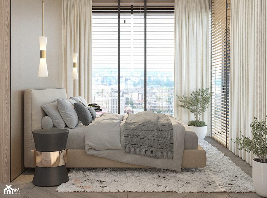 GDYNIA ORŁOWO - Sypialnia, styl nowoczesny - zdjęcie od FAMM DESIGN
