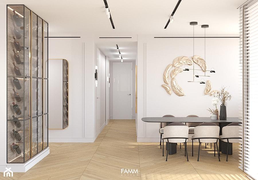 GDYNIA ORŁOWO - Jadalnia, styl nowoczesny - zdjęcie od FAMM DESIGN