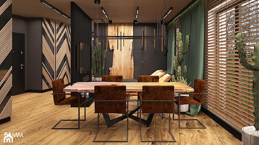 LUBLIN PO MOJEMU - Jadalnia, styl industrialny - zdjęcie od FAMM DESIGN