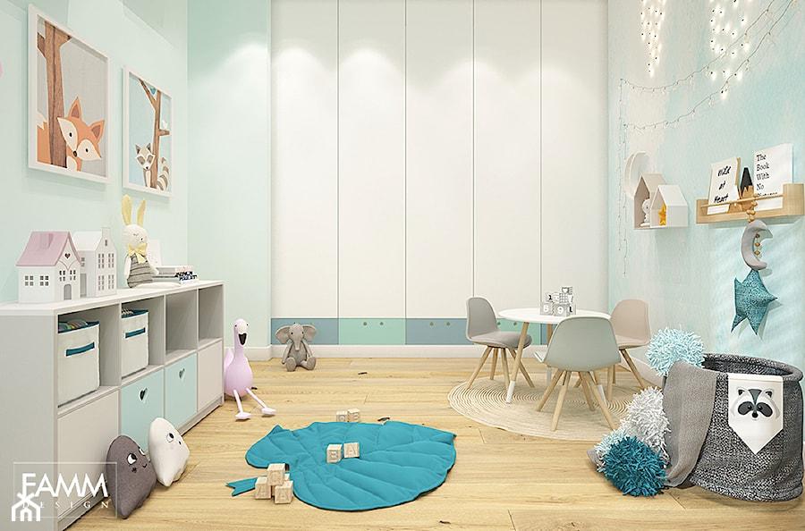 MOKOTÓW W KOLORACH - Pokój dziecka, styl nowoczesny - zdjęcie od FAMM DESIGN