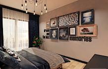 Sypialnia styl Vintage - zdjęcie od FAMM DESIGN