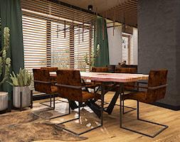 LUBLIN PO MOJEMU - Jadalnia, styl industrialny - zdjęcie od FAMM DESIGN - Homebook