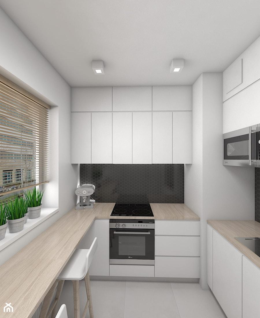 Mała i funkcjonalna kuchnia  zdjęcie od Dizajnia art   -> Kuchnia Funkcjonalna Wymiary