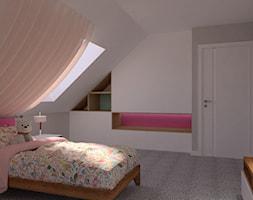 Pastelowa+sypialnia+uroczych+dziewczynek.+-+zdj%C4%99cie+od+JoKDesign