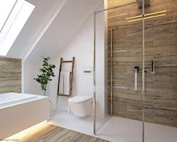 Łazienka z wanną i prysznicem - aranżacje, pomysły, inspiracje