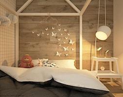 Pokoje dla nastolatków młodszych i najmłodszych - Średni pokój dziecka dla chłopca dla dziewczynki dla malucha, styl skandynawski - zdjęcie od ELEMENTY