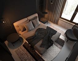 czErń ♠ - Sypialnia, styl minimalistyczny - zdjęcie od ELEMENTY - Homebook