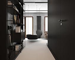 czErń ♠ - Hol / przedpokój, styl minimalistyczny - zdjęcie od ELEMENTY - Homebook