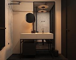 czErń ♠ - Łazienka, styl minimalistyczny - zdjęcie od ELEMENTY - Homebook