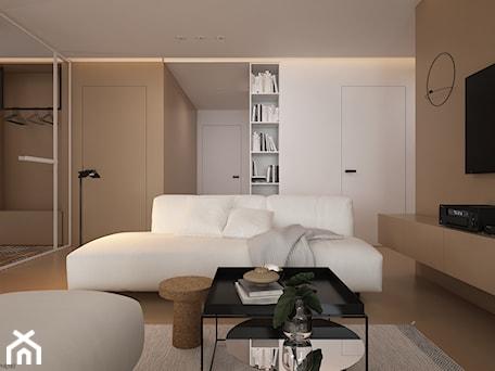Aranżacje wnętrz - Salon: Skandynawski minimalizm w odcieniach nude - Salon, styl minimalistyczny - ELEMENTY. Przeglądaj, dodawaj i zapisuj najlepsze zdjęcia, pomysły i inspiracje designerskie. W bazie mamy już prawie milion fotografii!