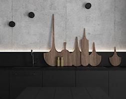 czErń ♠ - Kuchnia, styl minimalistyczny - zdjęcie od ELEMENTY - Homebook