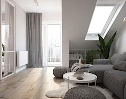 Apartament Praska Park - Salon, styl skandynawski - zdjęcie od ELEMENTY