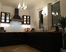 Okap rustykalny Petro Black Matt - zdjęcie od Nortberg Ekskluzywne Okapy Kuchenne - Homebook