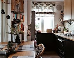 Kuchnia+w+bloku+Ikea.+Widok+na+kuchni%C4%99+z+salonu+-+zdj%C4%99cie+od+Olga+Drozd