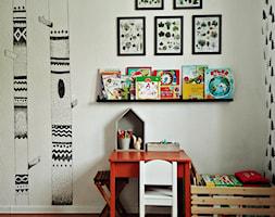 Leśny pokój 4 letniego skrzata (9m2) - zdjęcie od Olga Drozd