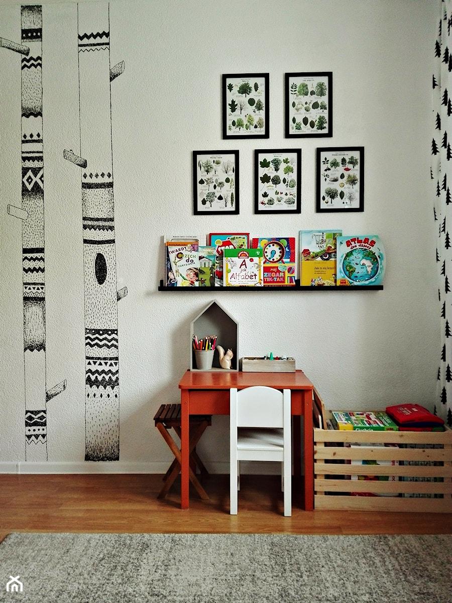 Aranżacje wnętrz - Pokój dziecka: Leśny pokój 4 letniego skrzata (9m2) - Olga Drozd. Przeglądaj, dodawaj i zapisuj najlepsze zdjęcia, pomysły i inspiracje designerskie. W bazie mamy już prawie milion fotografii!