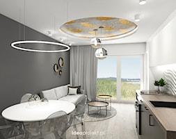 Salon z aneksem - zdjęcie od idea projekt - Homebook