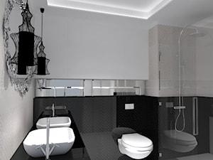 Koncepcja łazienki glamour